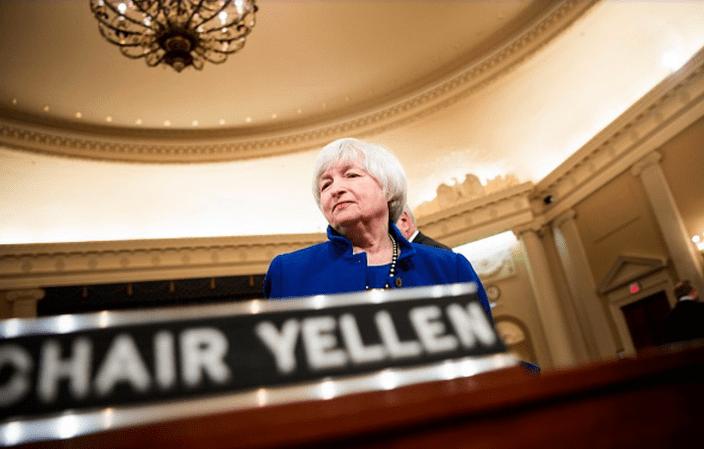 """美国逼近""""债务上限"""" 耶伦警告10月资金耗尽触发历史性违约"""