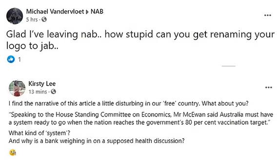 澳洲国民银行改名JAB,力挺疫苗接种!网友褒贬不一