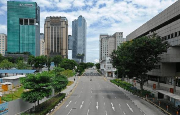 新加坡病例增加,但坚持重开道路