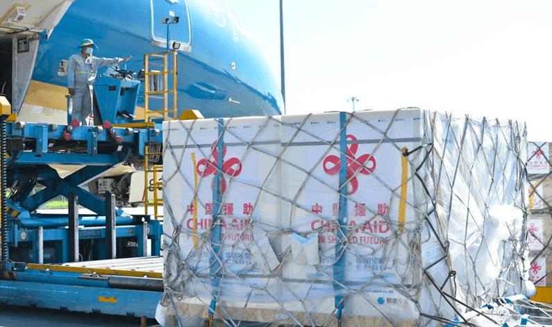 中国再捐赠三百万新冠疫苗给越南