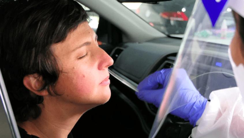 COVID-19拭子离开你的鼻子后会发生什么?