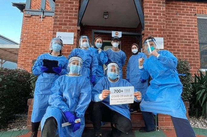 西悉尼医生放弃前院和退休计划服务处于疫情中心的社区
