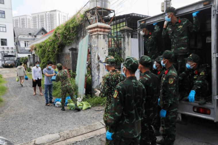 越南胡志明市延长封锁到九月底