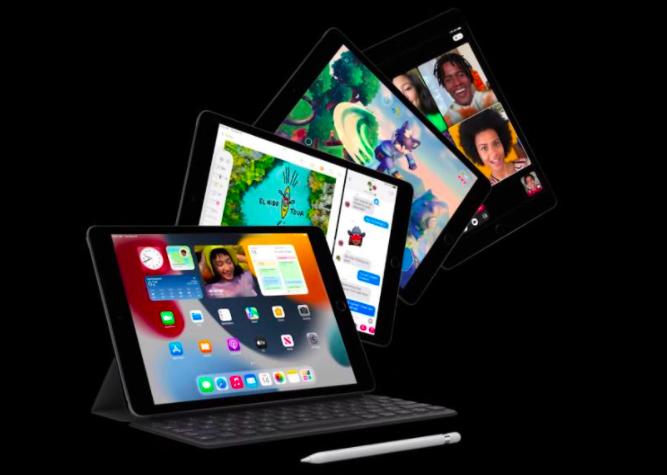 苹果举行新产品发布会,公布了新版本的手机,苹果手表和新iPad